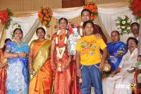 S S Rajendran Son Wedding Reception photos Stills