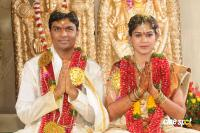 Pokuri Ramarao's son Venkata Kishan Wedding  with Soumya Marriage photos