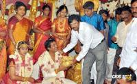 Kalaipuli S Dhanu's Son Prabhu Marriage Wedding Photos pics