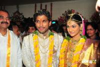 Allu arjun Sneha Marriage Wedding Photos (37)