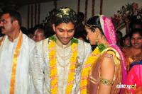 Allu arjun Sneha Marriage Wedding Photos (78)