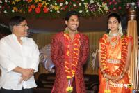 Allu Arjun- Sneha Reception Photos (53)