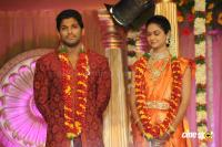 Allu Arjun- Sneha Reception Photos (65)