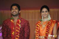 Allu Arjun- Sneha Reception Photos (80)
