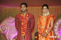 Allu Arjun- Sneha Reception Photos (82)
