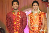 Allu Arjun- Sneha Reception Photos (92)