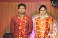 Allu Arjun- Sneha Reception Photos (96)