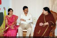 Jayalalitha at karthi reception