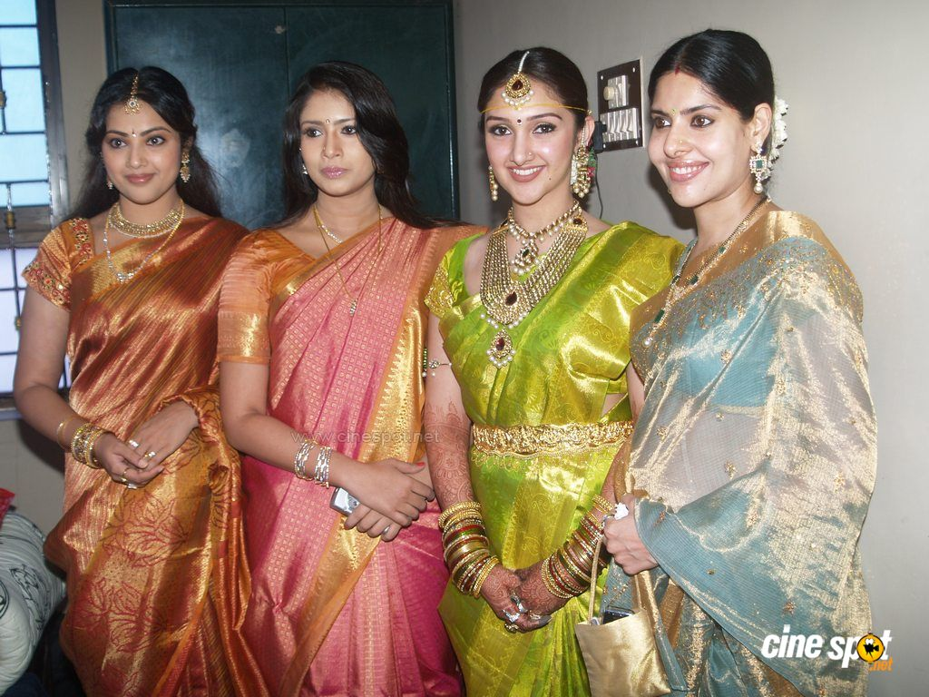 Meena Sridevi Marriage Photos 1