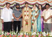 Stars at Meena Marriage Photos