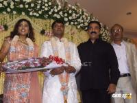 Kamala hassan _Meena Marriage Reception Photos