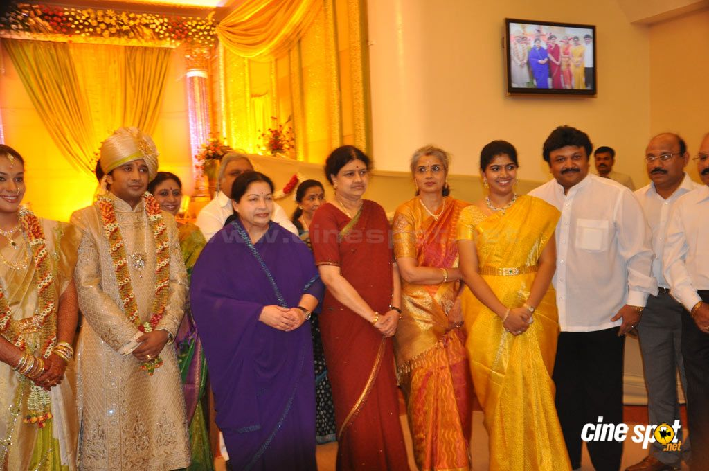 Sivaji Family Wedding Reception (7)