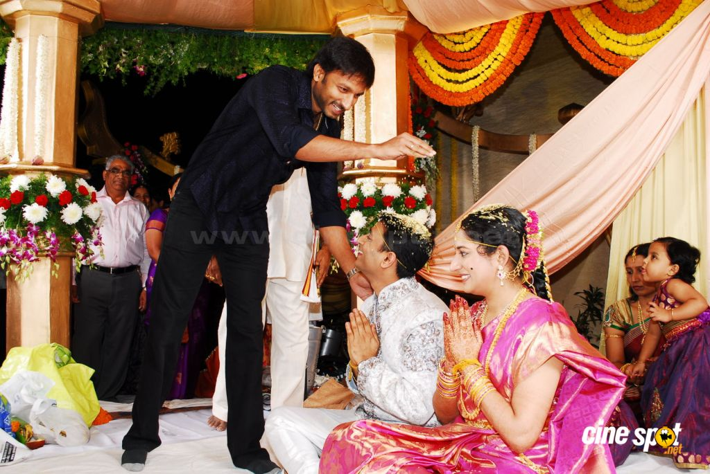Celebs at Pokuri Rama Rao Son Wedding (12)