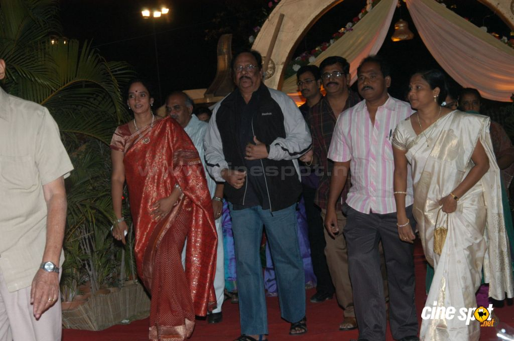 Celebs at Pokuri Rama Rao Son Wedding (9)