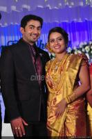 Dhanya mary varghese Reception Photos pics