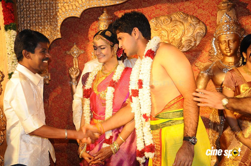 Cricketer Aniruddha Srikanth Wedding Reception 4