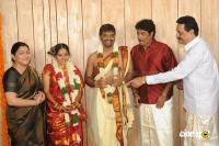 Producer Anbalaya Prabhakaran Son Marriage Photos pics