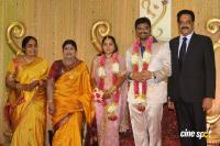 Producer Anbalaya Prabhakaran Son Marriage Reception Photos