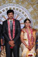 Aryan Rajesh Wedding Reception Photos