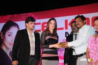 Tamanna Presents Prizes For Celkon Lucky Draw Winners Photos