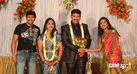 dharma kannada actor marriage reception photos (1)