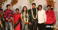 dharma kannada actor marriage reception photos (12)