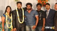 dharma kannada actor marriage reception photos (15)