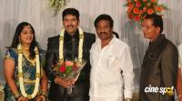 dharma kannada actor marriage reception photos (16)