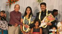 dharma kannada actor marriage reception photos (17)