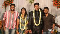 dharma kannada actor marriage reception photos (18)