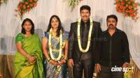 dharma kannada actor marriage reception photos (19)
