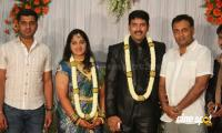 dharma kannada actor marriage reception photos (2)