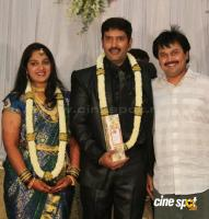 dharma kannada actor marriage reception photos (20)
