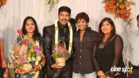 dharma kannada actor marriage reception photos (22)