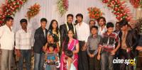 dharma kannada actor marriage reception photos (23)