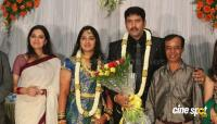 dharma kannada actor marriage reception photos (24)