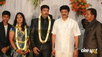 dharma kannada actor marriage reception photos (25)