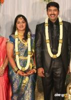 dharma kannada actor marriage reception photos (5)