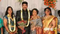 dharma kannada actor marriage reception photos (7)