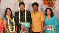 dharma kannada actor marriage reception photos (8)