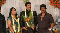 dharma kannada actor marriage reception photos (9)