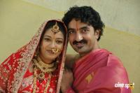 Chaya Singh and Artist Krishna marriage photos