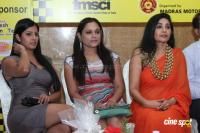 Varalakshmi At JK Tyre Duchess Womens Car Rally Photos