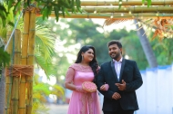Serial actress Dimple rose Engagement photos