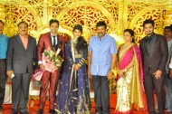 Producer Krishna Reddy Son Wedding Reception Photos