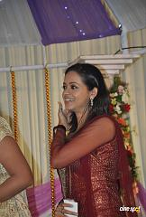 Actress Navya Nair Marriage Wedding reception Photos (32)
