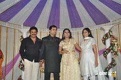 Actress Navya Nair Marriage Wedding reception Photos (48)