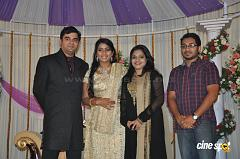 Actress Navya Nair Marriage Wedding reception Photos (51)