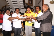 Gautham Karthik New Movie Launch Photos