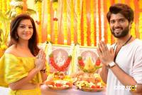 Vijay Devarakonda & Mehreen Pirzada Movie Launch Photos